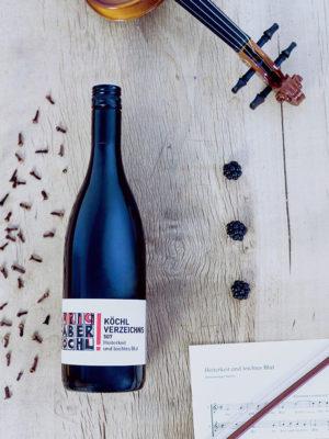 Eine Flasche Köchl Verzeichnis 507 vom Weingut Faber-Köchl