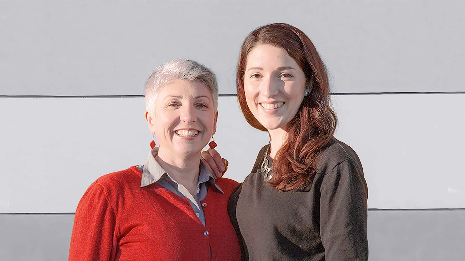 Maria Faber-Köchl und Anna Faber vom Weingut Faber-Köchl